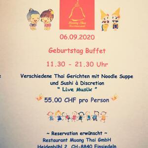 Geburtstag Büffet